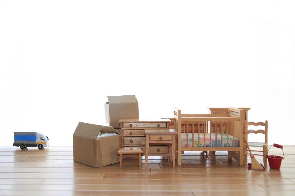 家具がたくさん置いてある部屋